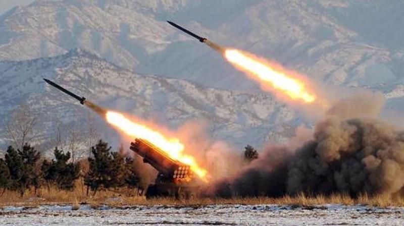 North Korea Playing Knock DownGinger