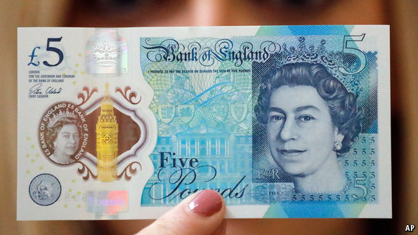 Vegan Outrage As New £5 Note Off Their Menu.